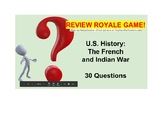 US I #3--French & Indian War Review Royale Game