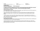 US II- World War II Notes/ Study Guide/ Handout. (Microsoft Word or Google Doc)