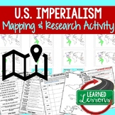 IMPERIALISM Mapping Activity & Research, & Guided PowerPoi
