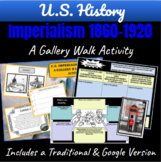 U.S. Imperialism 1860-1920: A Gallery Walk Student Activity   Distance Learning