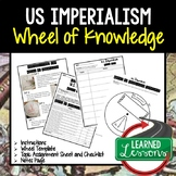US Imperialism Activity, Wheel of Knowledge (Interactive Notebook)