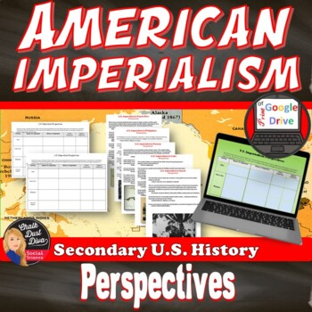 U.S. Imperialism Perspectives Activity – Common Core Aligned
