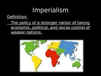 Imperialism in U.S. History Power Point Presentation