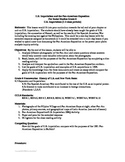 U.S. Imperialism/Pan-Am Expo. DBQ essay with full lesson plan
