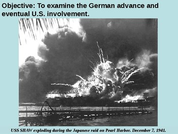 U.S. Involvement Grows / Pearl Harbor PowerPoint Presenation