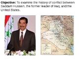 U.S. Involvement in Iraq PowerPoint Presentation