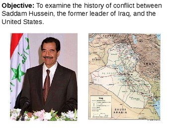 U.S. Involvement in Iraq PowerPoint Presentation