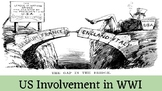 US Involvement in WWI: Lusitania, Treaty of Versailles, & the League of Nations