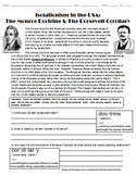 US Isolationism in WWII and The Monroe Doctrine