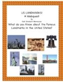 U.S. LANDMARKS: A Webquest