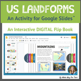 US Landforms   Landforms and Bodies of Water   Landforms Flipbook  Google Slides