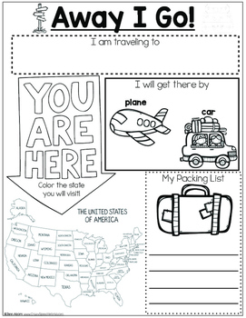 US Landmarks: Language Activities for Speech Therapy!