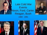 US Late Cold War Foreign Policy