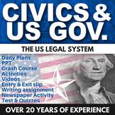 US Legal System - Civics - Chapter 12 - Holt