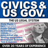 US Legal System - Civics - Chapter 12 - Holt