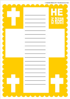 Religious Bible Borders 15 Designs US & Letter
