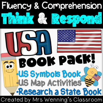 USA Map & Activities Pack!