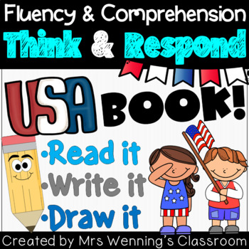 US Map Book: Think and Respond!