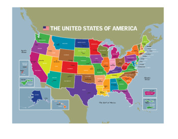 USA Map Clip Art