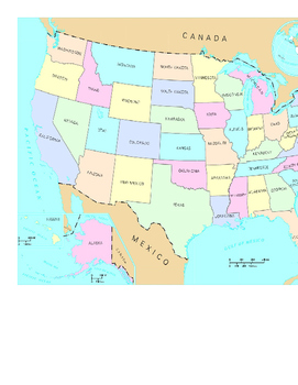 US Map questions #2