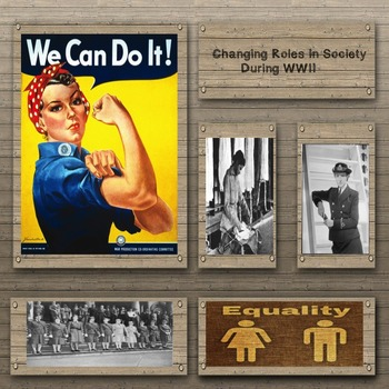 US Middle School: Changing Roles in Society During WWII