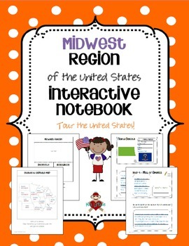 US Midwest Region Interactive Notebook