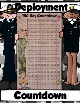 US Military DEPLOYMENT COUNTDOWN {Free Printable Poster}