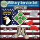 US Military Service Bundle Army, Air Force, Navy Sailor {Messare Clips & Design}