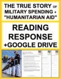 US Military Spending + September 11 Reading Response, Answer Key + GoogleDoc
