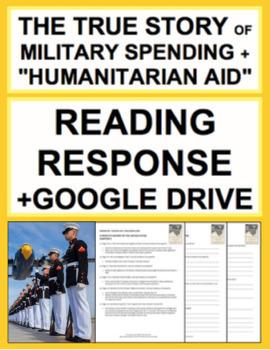 US Military Spending + September 11 Reading Response, Answer Key + GoogleDoc