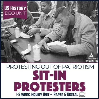 Civil Rights Complaints To Us >> Us Mini Pbl Unit Civil Rights Sit In Protest Movement Tpt