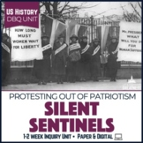 US Mini PBL Unit Women Suffrage and Silent Sentinels Protest Movement