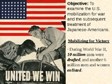 U.S. Mobilization and Japanese Internment PowerPoint Presentation