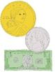 US Money Clip Art:  12 PNGs