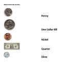 US Money Match (Easier Version)