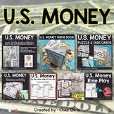 US Money - Mega BUNDLE - Flashcards, Activities and Worksheets