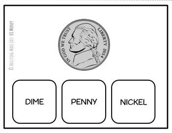 US Money Names & Values Task Cards - Life Skills Math