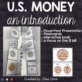 US Money - Powerpoint presentation, flashcards, interactiv