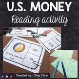 US Money Reading Activities - Differentiated