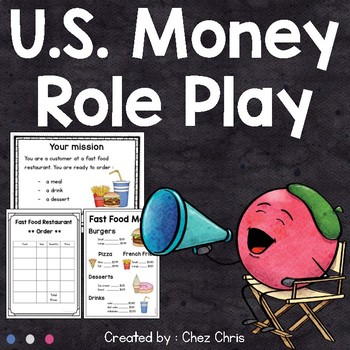 US Money Role Play Activity