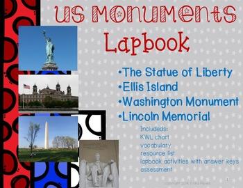 US Monuments Lapbook/INB Unit