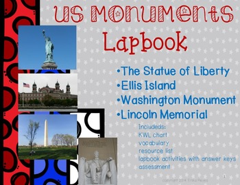 US Monuments Lapbook/INB Unit