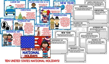 US National Holdiays