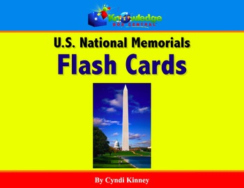 US National Memorials Flash Cards - For Tablets