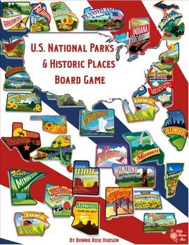 U.S. National Parks & Historic Places Board Game