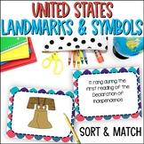 U.S. National Symbols and Landmarks Task Cards