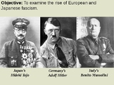 U.S. Neutrality and the Rise of Global Fascism PPT