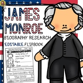 US PRESIDENTS: BIOGRAPHY: JAMES MONROE