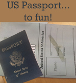 US Passport Template