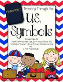 US Passport and Flag Craftivity